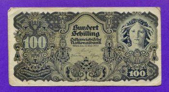 Austria 100 Shilling 1945
