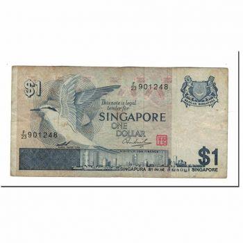 SINGAPORE 5 DOLLARS 1989 UNC