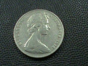 1916 AUSTRALIA 1 SILVER SHILLING No1