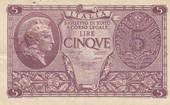 1870 ITALY BANCA TOSCANA 50 Centesimi!