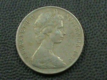 1917 AUSTRALIA 1 SILVER SHILLING