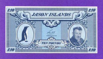 ΝΗΣΙΑ JASON, 10 POUNDS ND (1978-1979) UNC