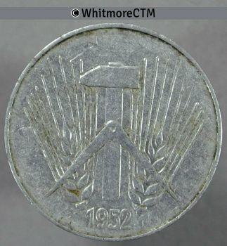 GERMANY 5 MARKS 1951 ΑΣΗΜΕΝΙΟ
