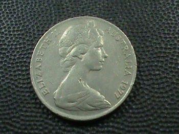 1916 AUSTRALIA 1 SILVER SHILLING