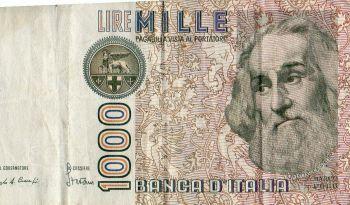 17-10-1921 ITALY Vittorio Emanuele 2 Lire