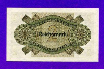 GERMANY (Ελλ.κατοχή), 2 REICHSMARK UNC