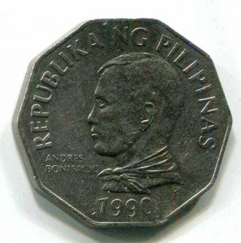 PHILIPPINES 2 PISO (PESOS) 1990