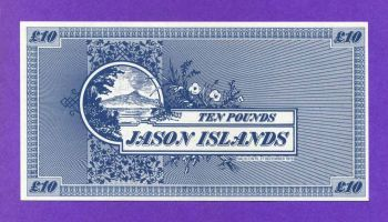 ΝΗΣΙΑ JASON, 10 POUNDS ND (1978-1979) UNC