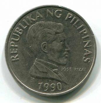 PHILIPPINES 1 PISO (PESO) 1990 XF