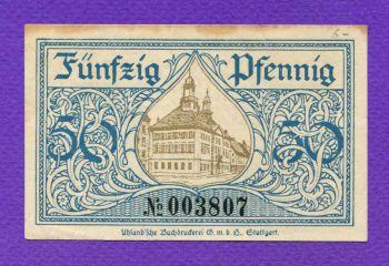 Germany 50 Pfennig 1920 Notgeld