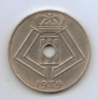 BELGIUM 20 Francs 1934 ΑΣΗΜΕΝΙΟ
