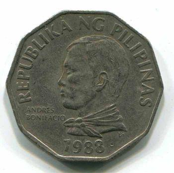 PHILIPPINES 2 PISO (PESOS) 1988
