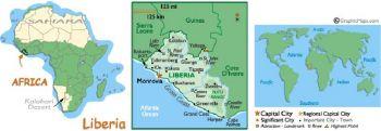 LIBERIA 5 DOLLARS 2003 P26 UNC