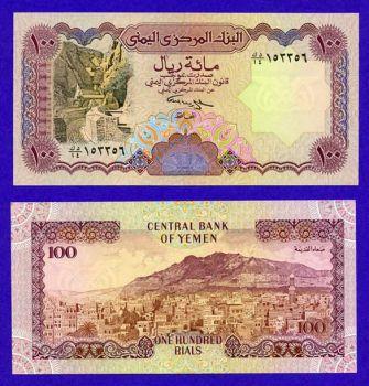 YEMEN 100 RIALS 1994 UNC