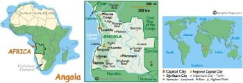 ANGOLA 5 KWANZAS 1999 P 144 UNC