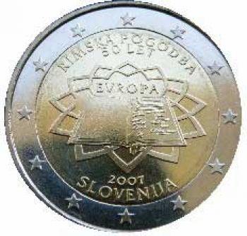 SLOVENIA 2 EURO 2007