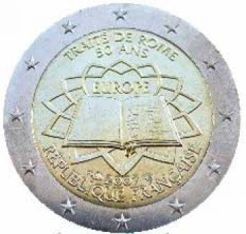 FRANCE 2 EURO 2007  Treaty of Rome