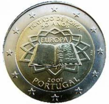 PORTUGAL 2 EURO 2007  Treaty of Rome