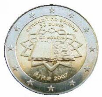 IRELAND 2 EURO 2007  Treaty of Rome