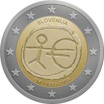 SLOVENIA 2 EURO 2009 -  EMU