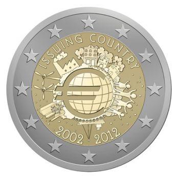 21 x 2 EURO COINS ( All Countries ) 2012