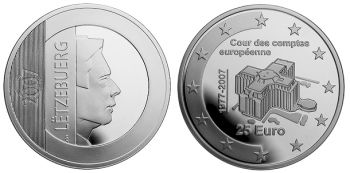 Luxemburg 25 Euro 2007
