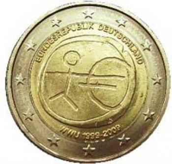 GERMANY 2 EURO 2009 -  EMU