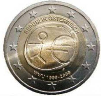 AUSTRIA  2 EURO 2009 -