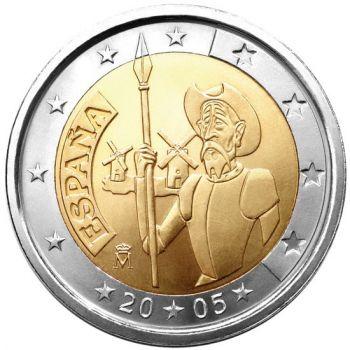 Spain 2 euro 2005  Don Quixote