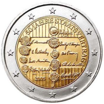 Austria 2 euro 2005