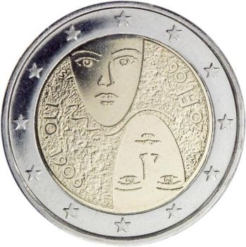 Finland 2006 2€ Centenary Of Suffrage UNC