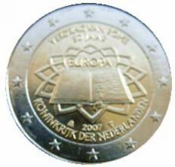 NETHERLANDS 2 EURO 2007  Treaty of Rome