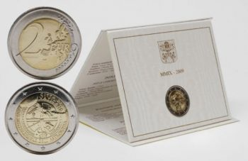 Vatican - 2 Euro, International Year of Astronomy, 2009