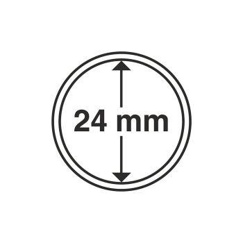 Coin Capsules inner diameter 24 mm