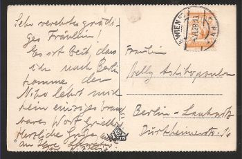 Austria: Very rare old card with stamp (clear date VI/ 28/ 1913 !!) and text. Collectible item!