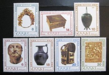 GREECE 1979 ARCH. FINDS FROM VERGINA MNH