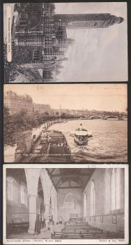 Lot 3 cards from England Very old!