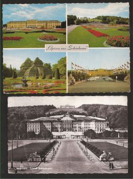 Austria: Lot two beautiful card with stamp  and text. Same theme! Different year!Collectible item!