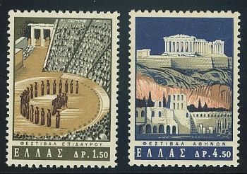 Greece- 1965 Greek Art Festivals MNH