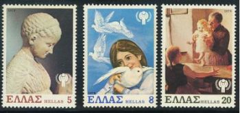 Greece- 1979 International Year of the Child MNH