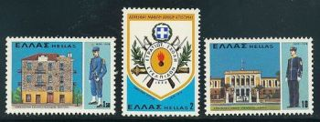 Greece- 1978 150th Anniversary of the foundation of the Military Academy MNH