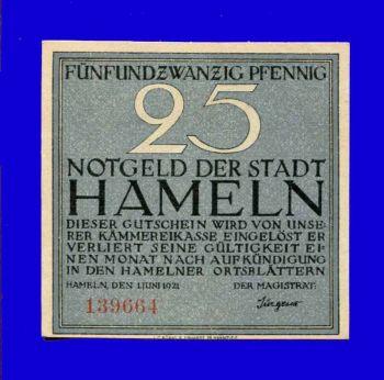 Germany, 25 Pfennig, 1921, Notgeld