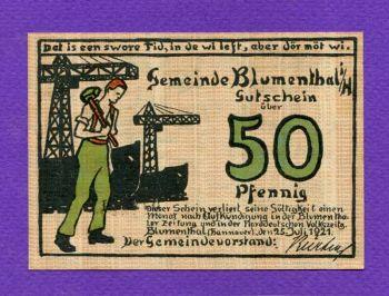 Germany 50 Pfennig 25 Juli 1921 Notgeld