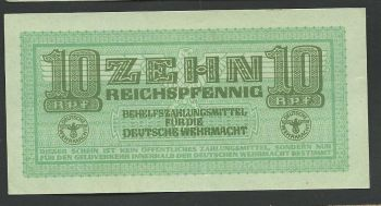 Greece: WWII (occupation period) 50 pfennig without stamps UNC!
