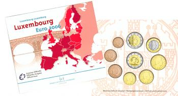 Luxembourg Euro coin Set 2006