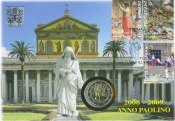 Vatikan Vatikan - Original Numisbrief 2008