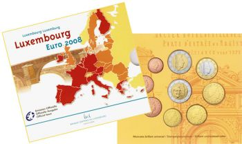 Luxembourg Euro coin Set 2008