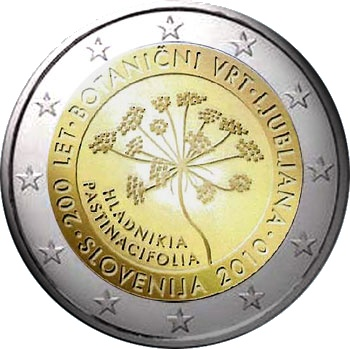 SLOVENIA 2 EURO COIN 2010 -