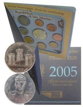 San Marino BU Set 2005