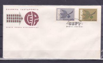GREECE EUROPA CEPT 1965